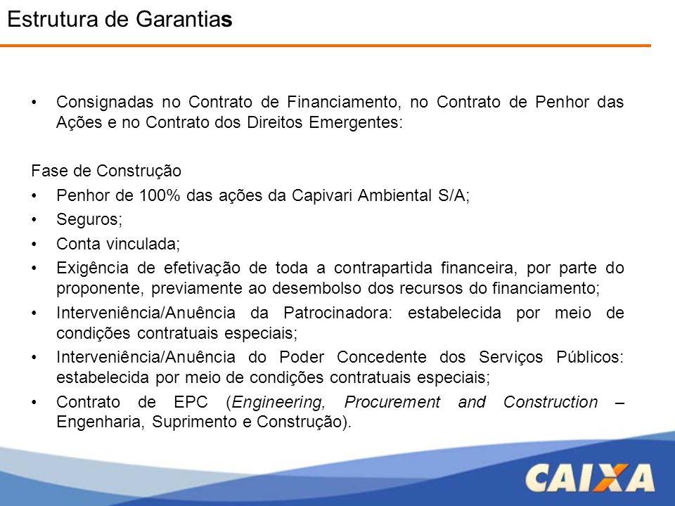 Estrutura de Garantias