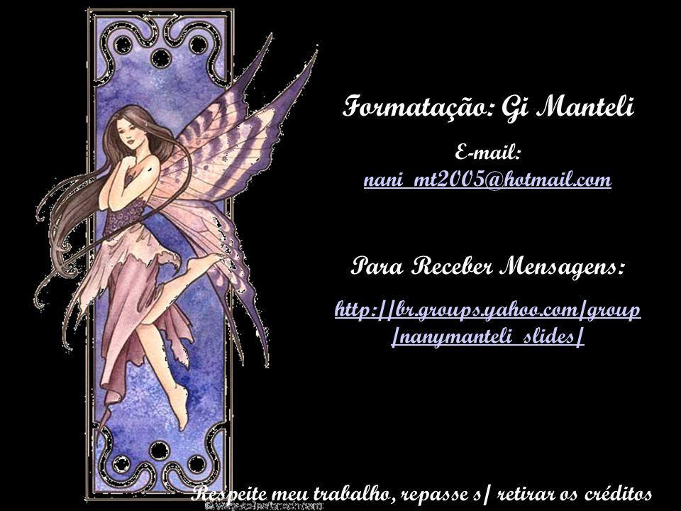 Formatação: Gi Manteli
