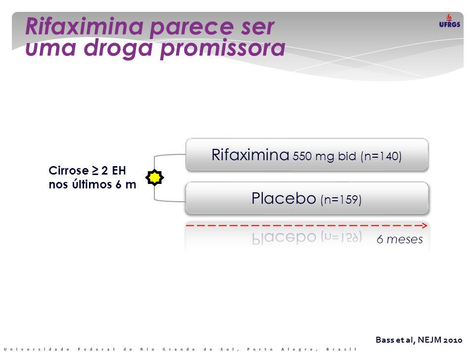 Rifaximina parece ser uma droga promissora