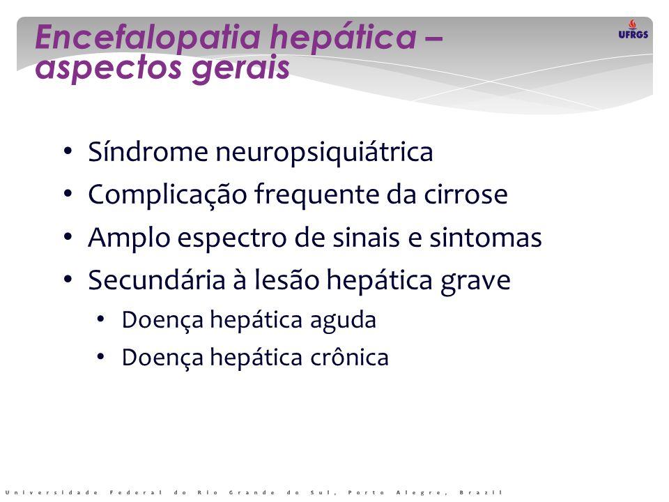 Encefalopatia hepática – aspectos gerais