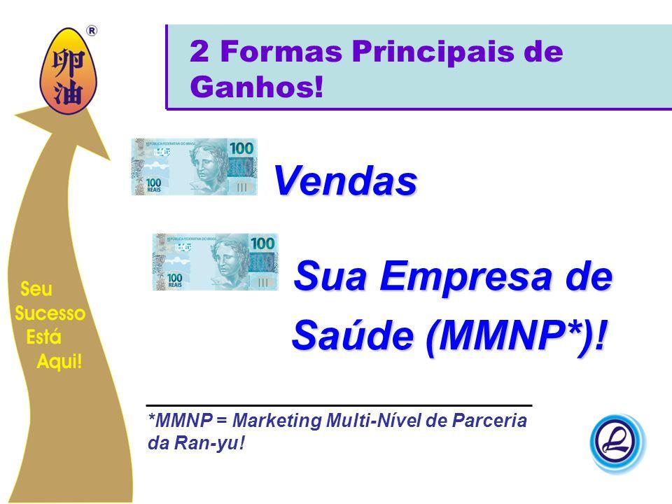 Vendas Sua Empresa de Saúde (MMNP*)! 2 Formas Principais de Ganhos!
