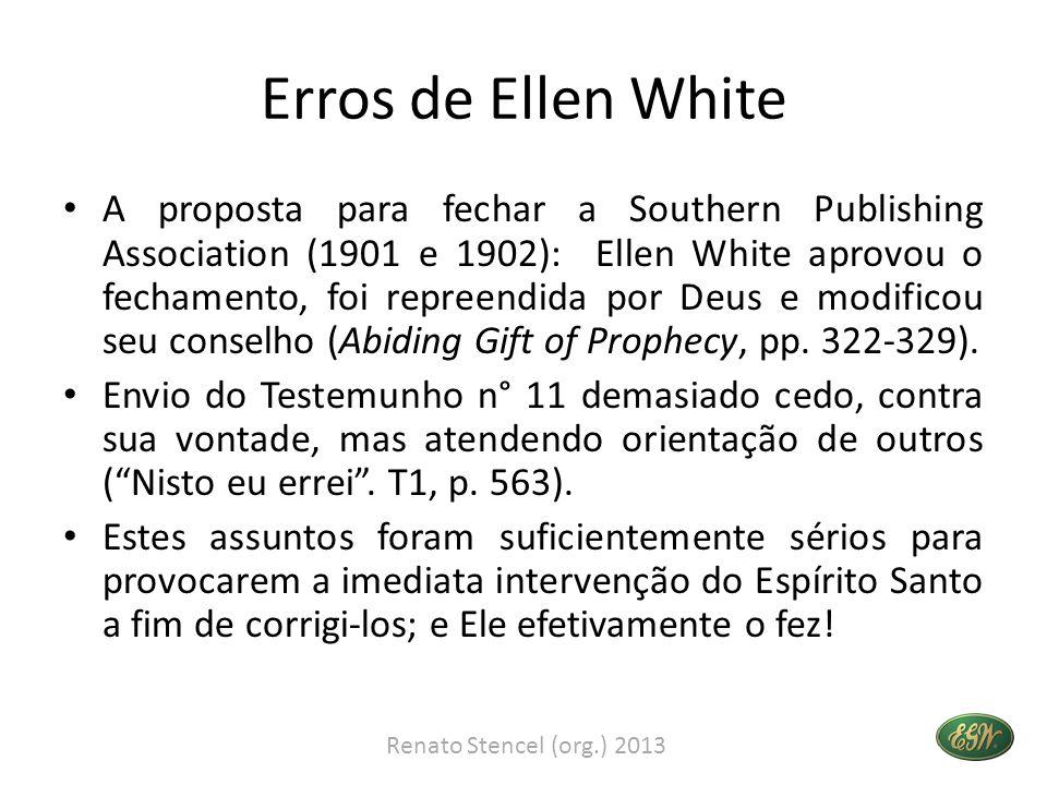 Erros de Ellen White