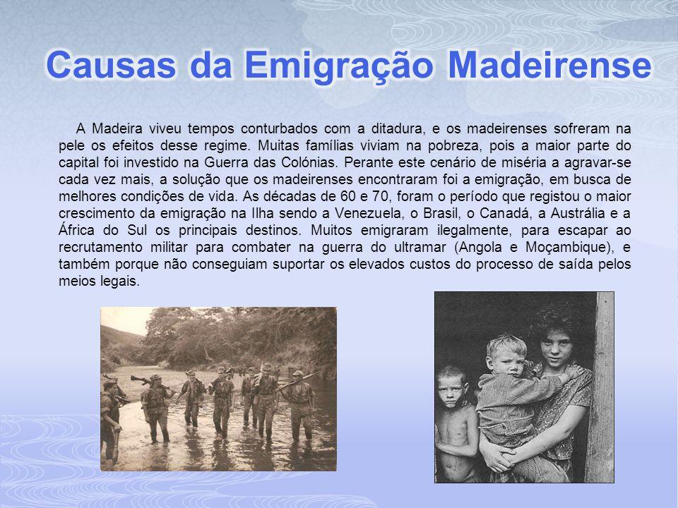 Causas da Emigração Madeirense