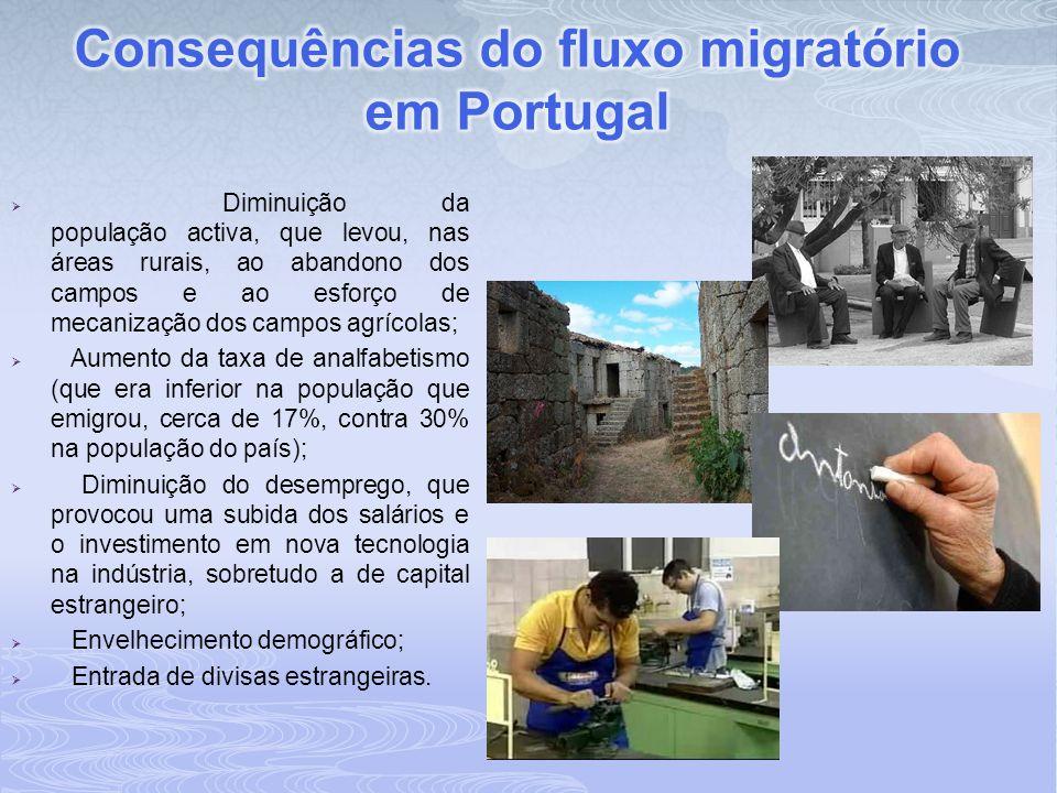 Consequências do fluxo migratório em Portugal
