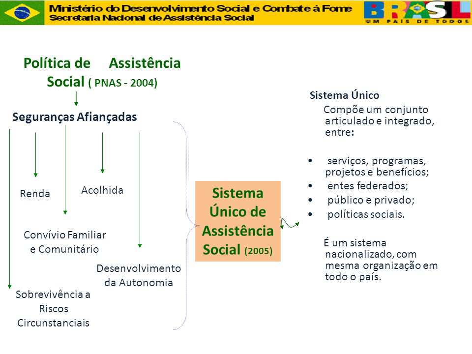 Política de Assistência Social ( PNAS - 2004)