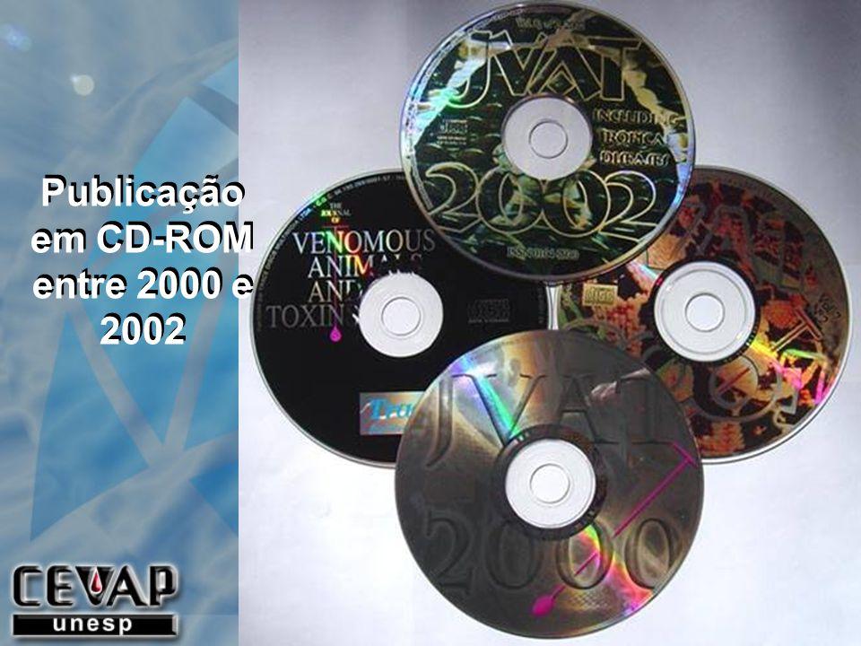 Publicação em CD-ROM entre 2000 e 2002