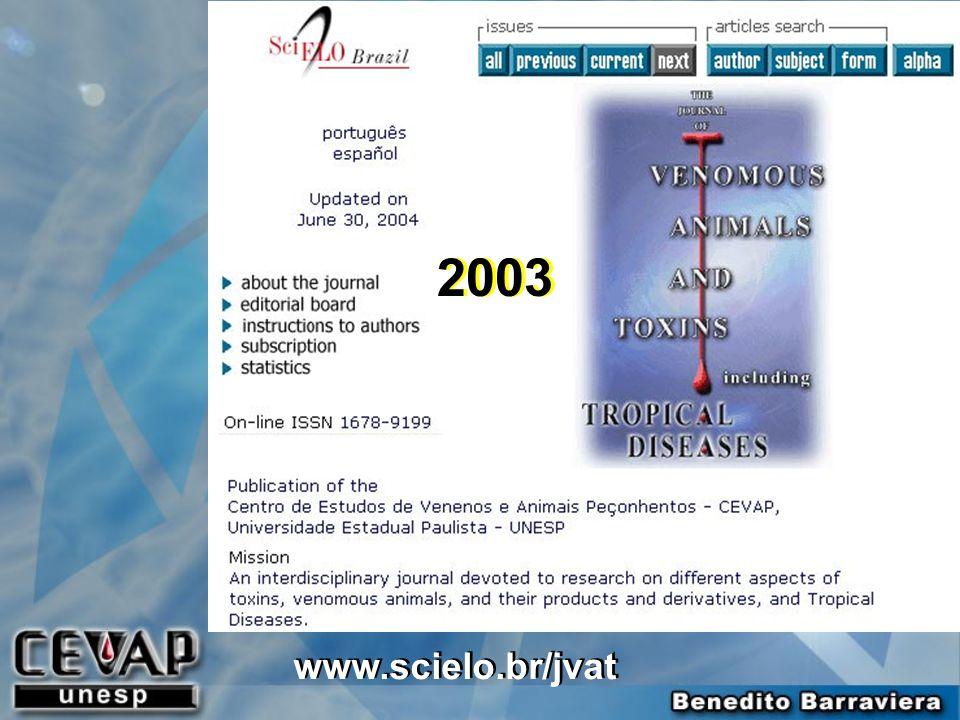 2003 www.scielo.br/jvat