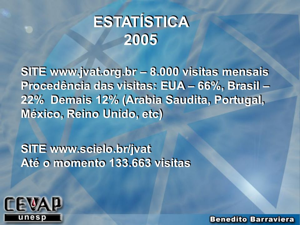 ESTATÍSTICA 2005