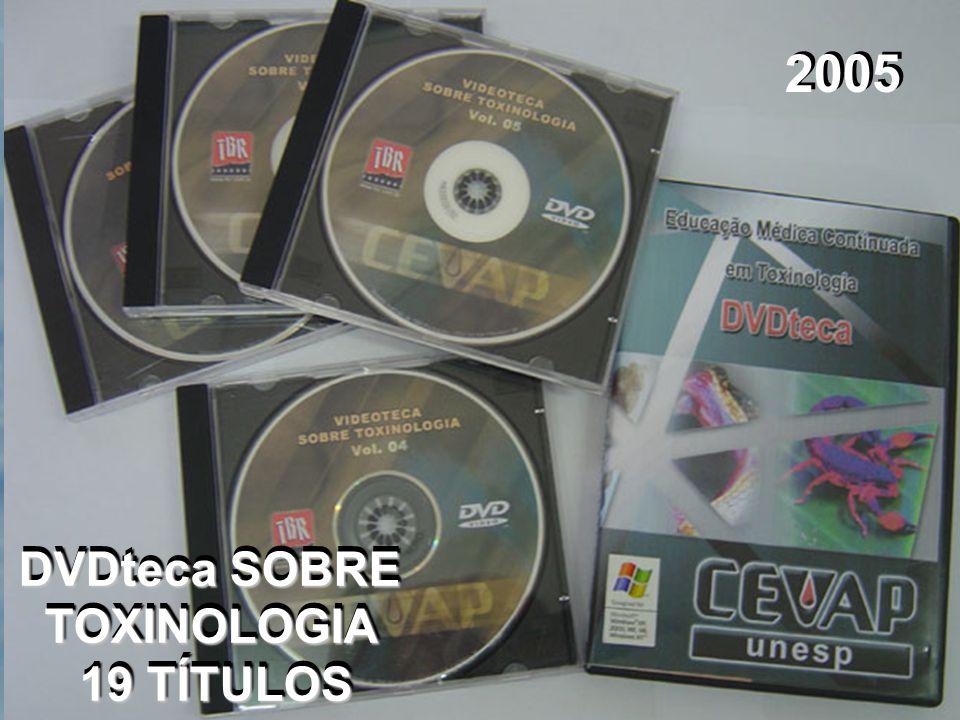 DVDteca SOBRE TOXINOLOGIA
