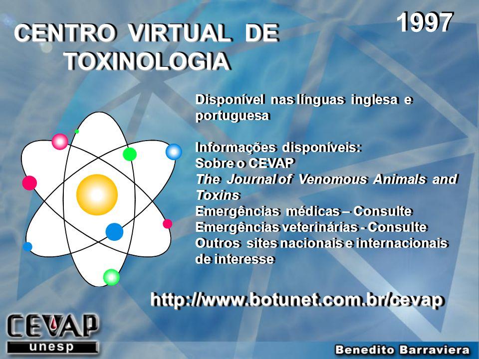 CENTRO VIRTUAL DE TOXINOLOGIA