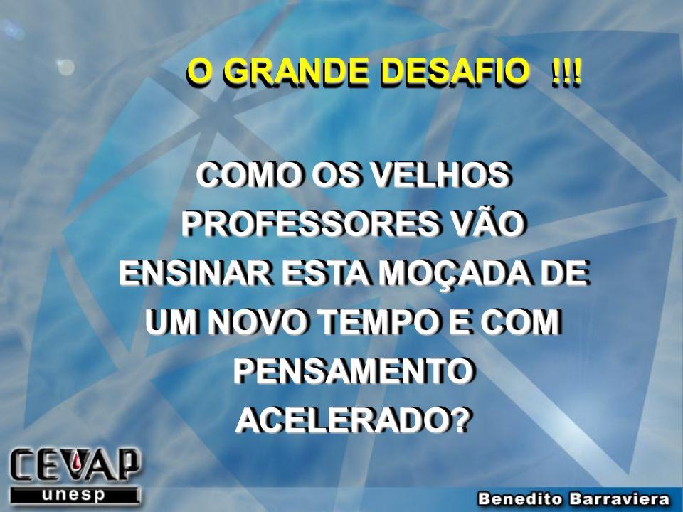 O GRANDE DESAFIO !!.