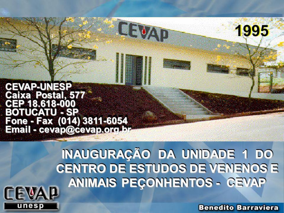 1995 CEVAP-UNESP. Caixa Postal, 577. CEP 18.618-000. BOTUCATU - SP. Fone - Fax (014) 3811-6054.