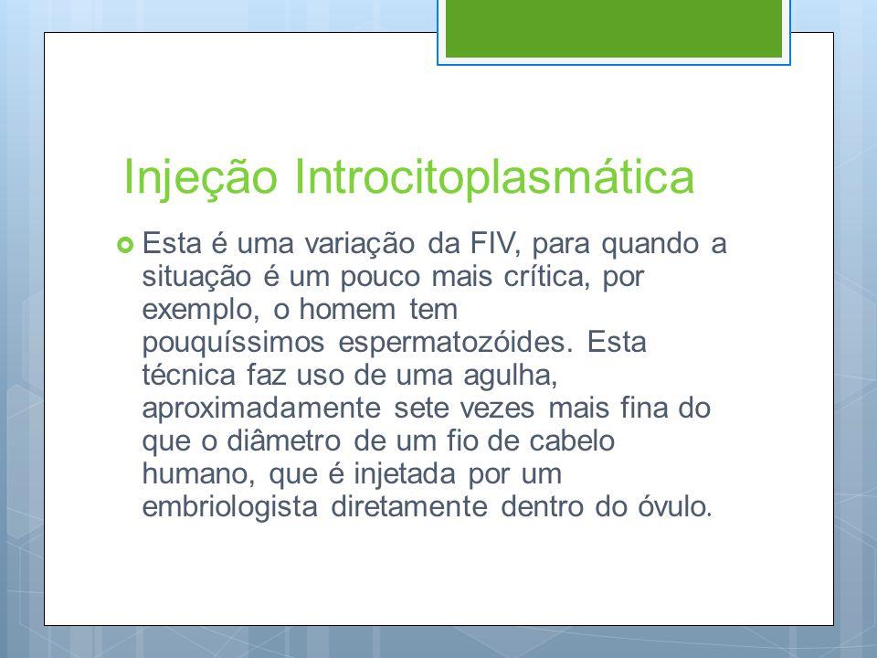 Injeção Introcitoplasmática