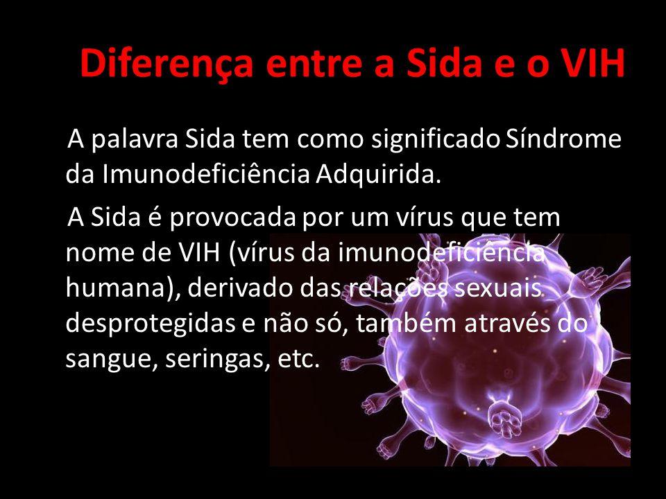 Diferença entre a Sida e o VIH