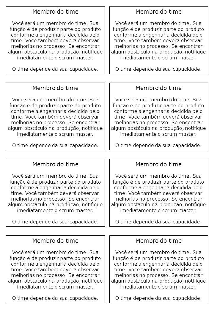 Membro do time Membro do time Membro do time Membro do time