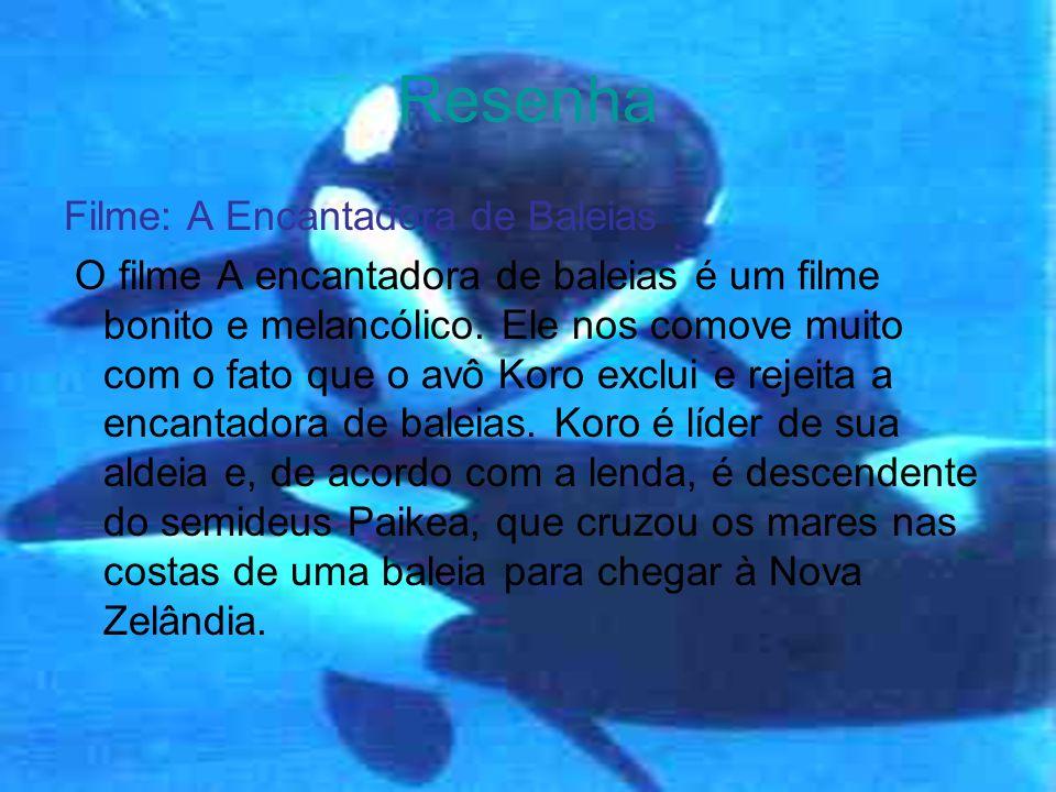 Resenha Filme: A Encantadora de Baleias