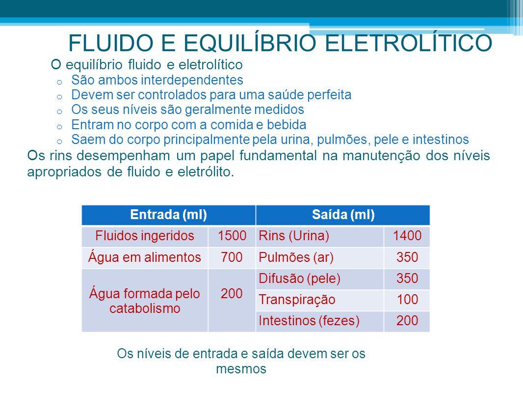 FLUIDO E EQUILÍBRIO ELETROLÍTICO
