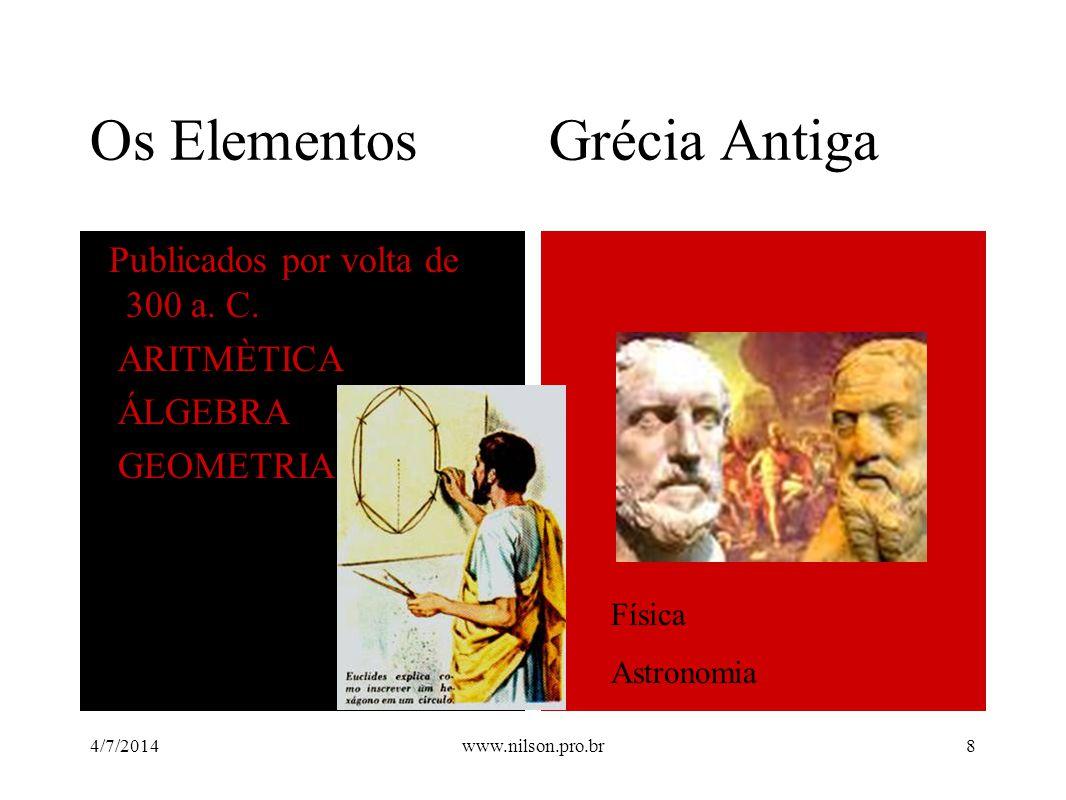 Os Elementos Grécia Antiga