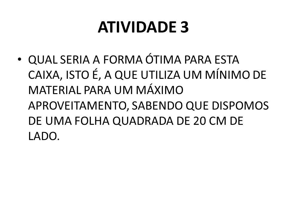 ATIVIDADE 3