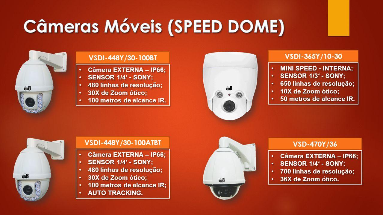 Câmeras Móveis (SPEED DOME)