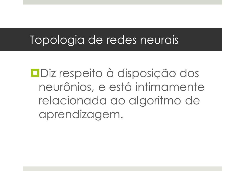 Topologia de redes neurais