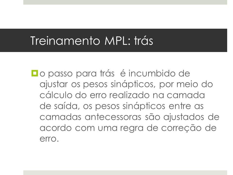Treinamento MPL: trás