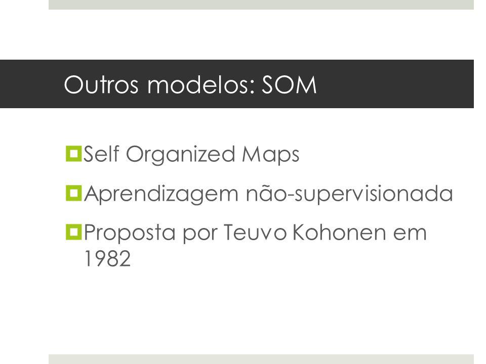 Outros modelos: SOM Self Organized Maps