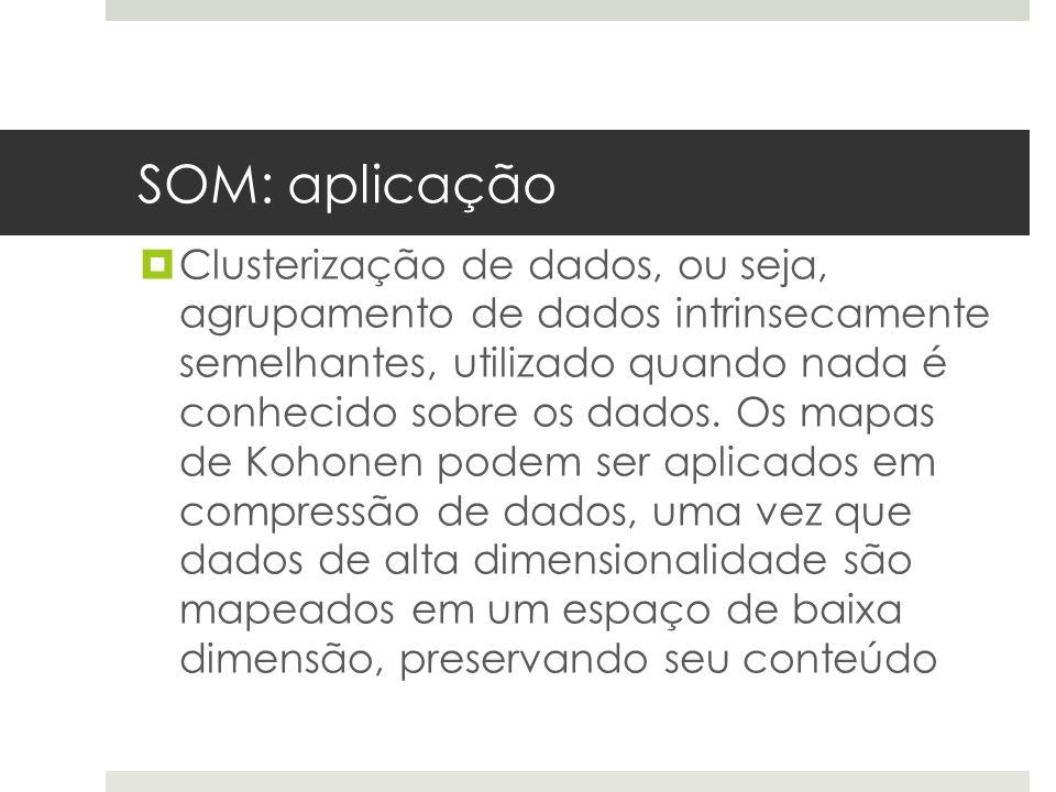SOM: aplicação