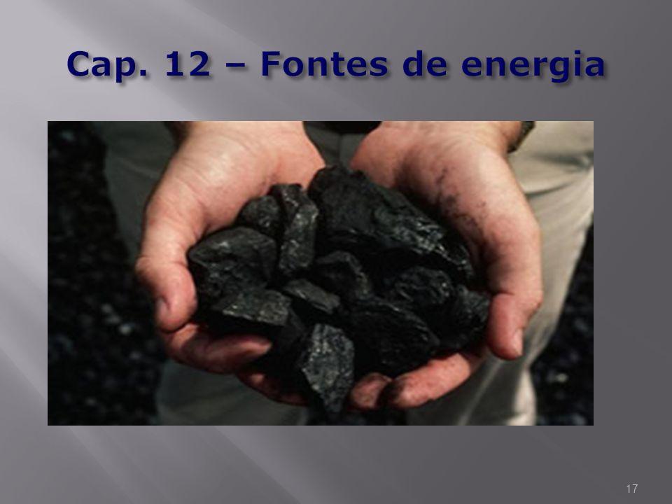 Cap. 12 – Fontes de energia