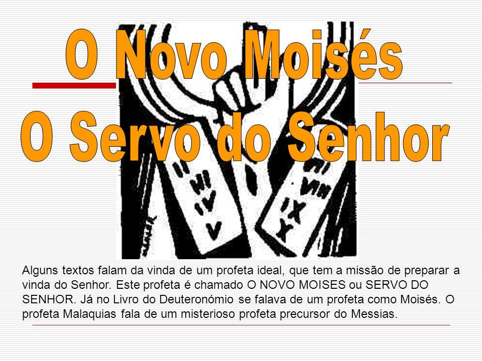 O Novo Moisés O Servo do Senhor
