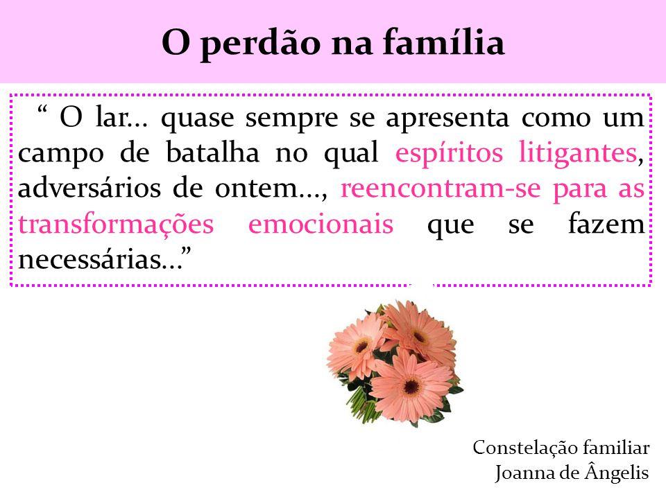 O perdão na família