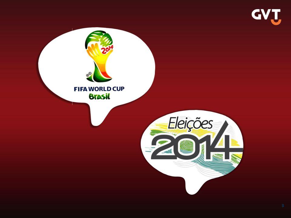A copa do Mundo – O Brasil vai parar nos meses de Maio a Julho, para isso, precisamos acelerar o primeiro trimestre de 2014.