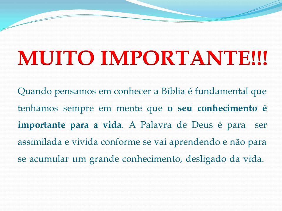 MUITO IMPORTANTE!!!