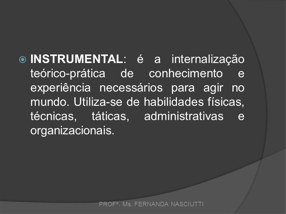 PROFª. Ms. FERNANDA NASCIUTTI