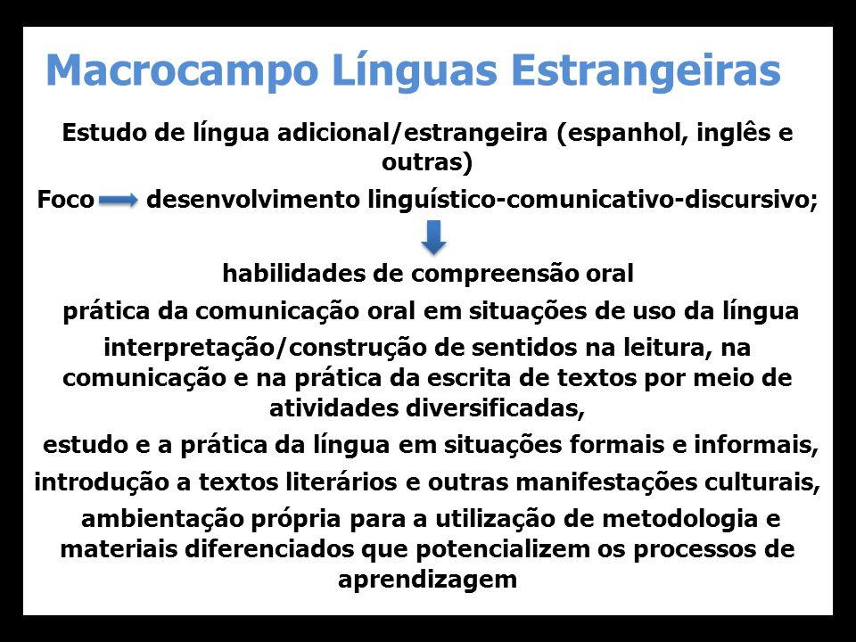 Macrocampo Línguas Estrangeiras