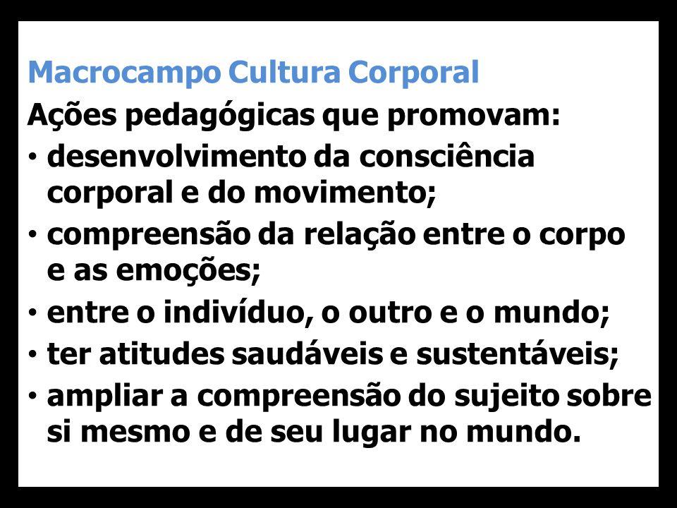 Macrocampo Cultura Corporal