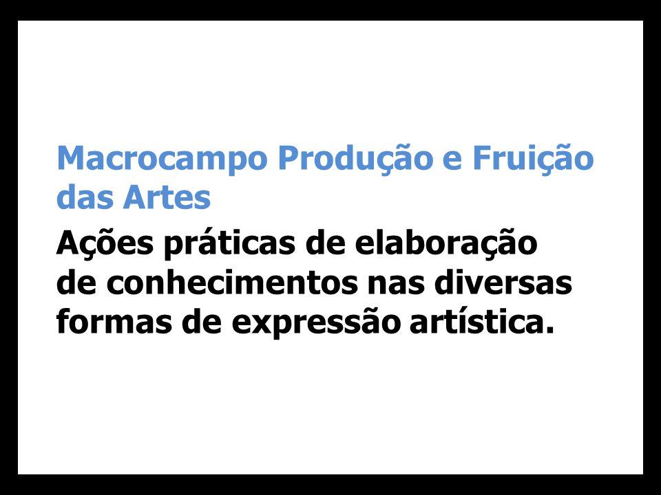 Macrocampo Produção e Fruição das Artes