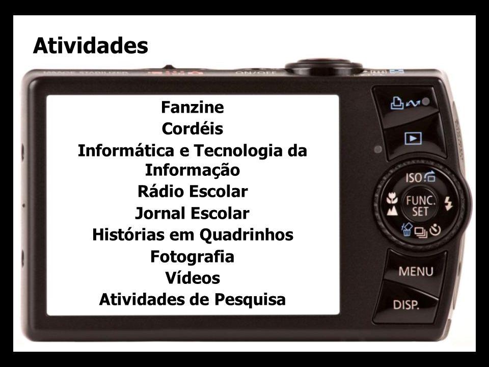 Atividades Fanzine Cordéis Informática e Tecnologia da Informação