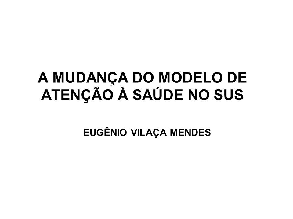 A MUDANÇA DO MODELO DE ATENÇÃO À SAÚDE NO SUS