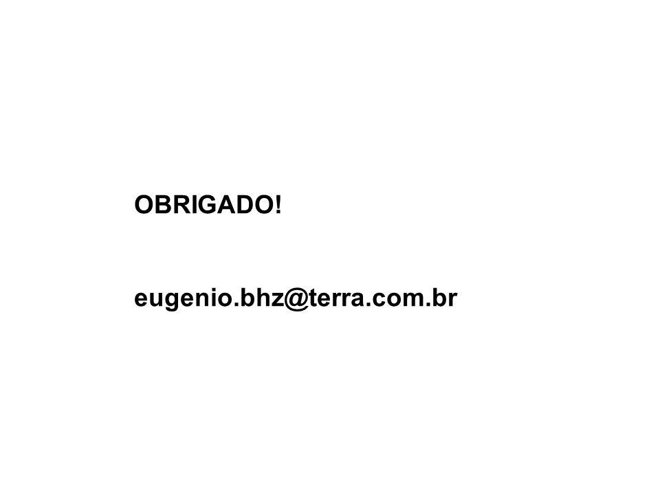 OBRIGADO! eugenio.bhz@terra.com.br