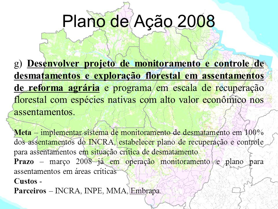 Plano de Ação 2008