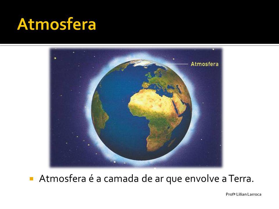 Atmosfera Atmosfera é a camada de ar que envolve a Terra.