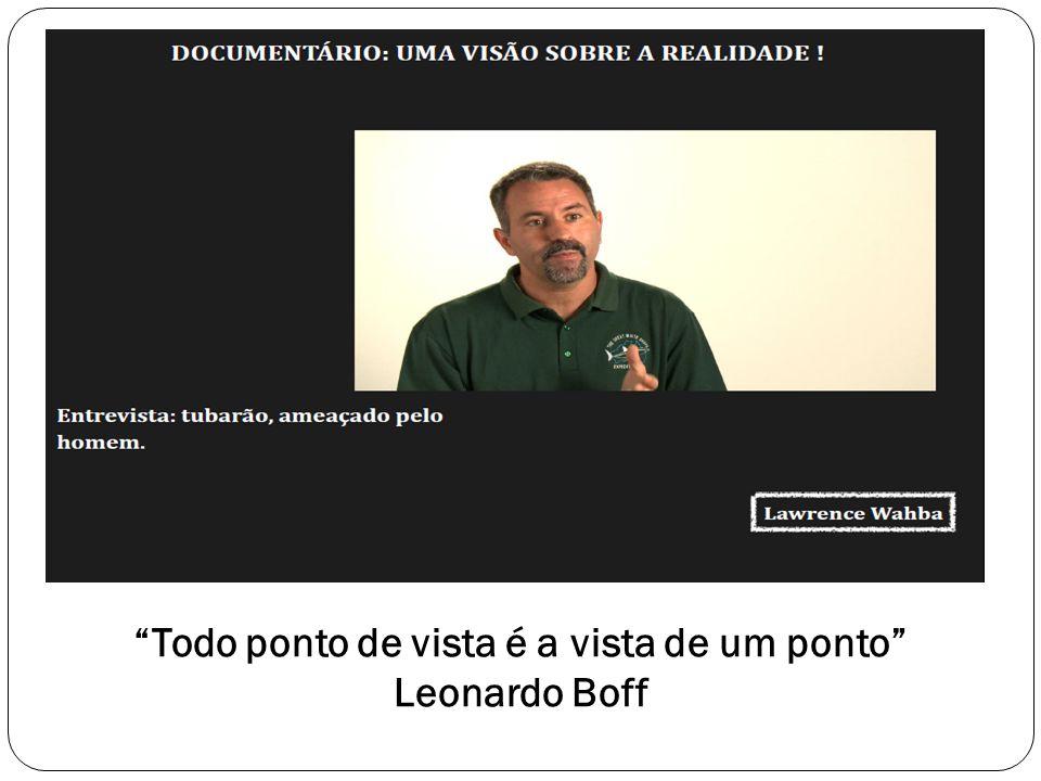 Todo ponto de vista é a vista de um ponto Leonardo Boff