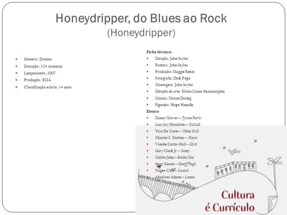 Honeydripper, do Blues ao Rock (Honeydripper)