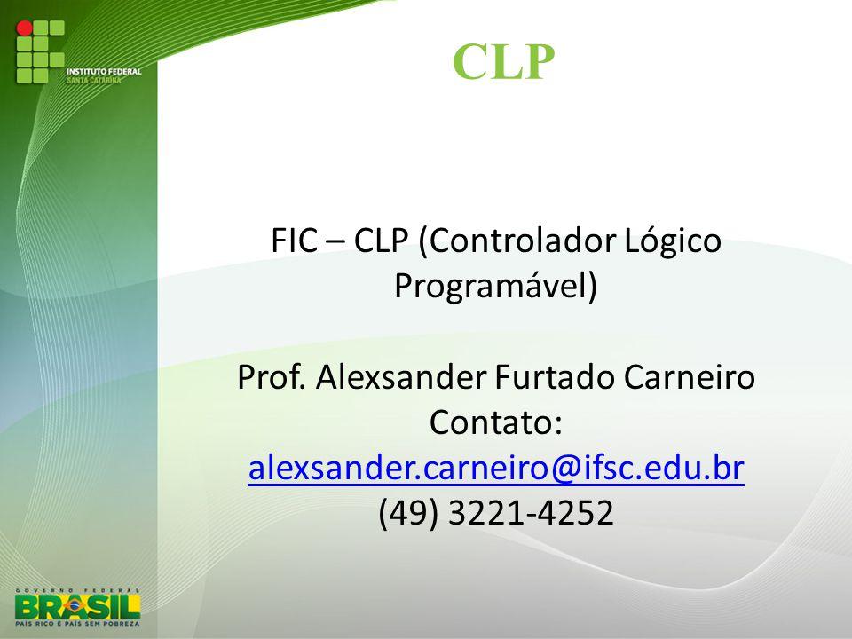 CLP FIC – CLP (Controlador Lógico Programável)