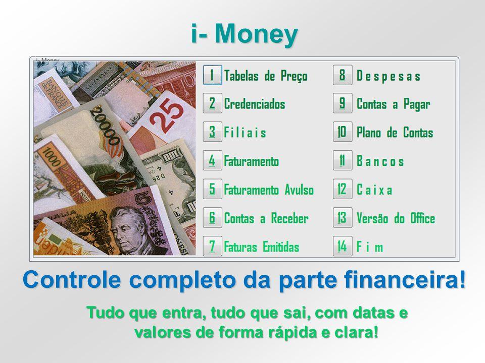 i- Money Controle completo da parte financeira!