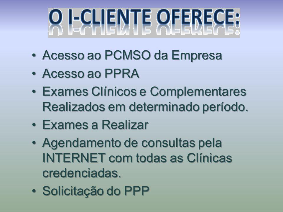 Acesso ao PCMSO da Empresa