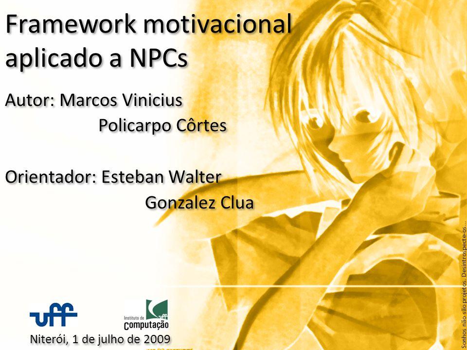 Framework motivacional aplicado a NPCs