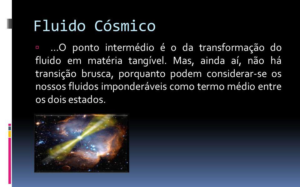 Fluido Cósmico