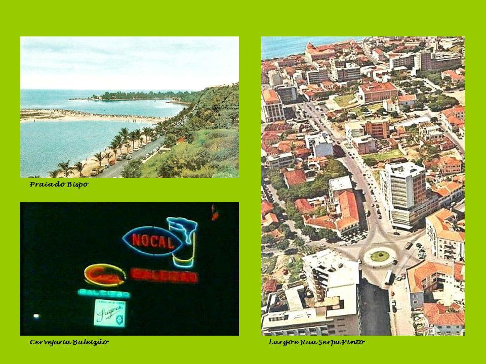 Praia do Bispo Cervejaria Baleizão Largo e Rua Serpa Pinto